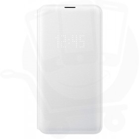 Official Samsung Galaxy S10e White LED Flip Wallet / Case - EF-NG970PWEGWW