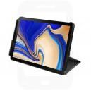 Official Samsung Tab S4 10.5 SM-T830, SM-T835 Black Book Cover / Case - EF-BT830PBEGWW