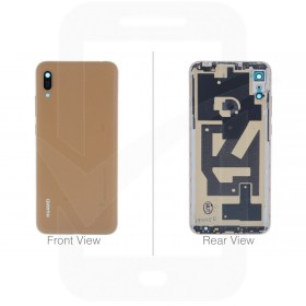 Genuine Huawei Y6 2019 Brown Rear / Battery Cover - 02352MQY