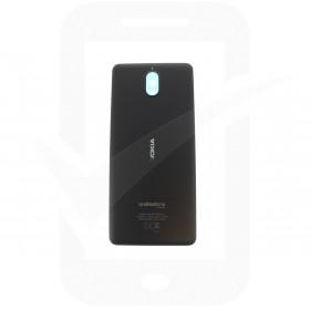 Official Nokia 3.1 Dual Sim TA-1063 Black Rear / Battery Cover - 20ES2BW0001