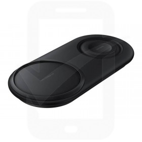 Official Samsung EP-P5200TBEGGB Black Wireless Charger Duo Pad with Mains Charger - UK