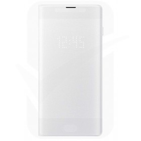 Official Samsung Galaxy S10 Plus White LED Flip Wallet / Case - EF-NG975PWEGWW