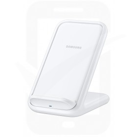 Official Samsung EP-N5200TWEGGB White 15W Qi Wireless Charger Pad with Main Charger - UK