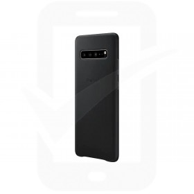 Official Samsung Galaxy S10 5G Black Leather Protective Cover / Case - EF-VG977LBEGWW