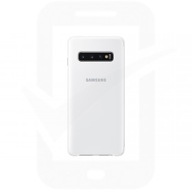 Official Samsung Galaxy S10 White Clear View Cover  / Case - EF-ZG973CWEGWW