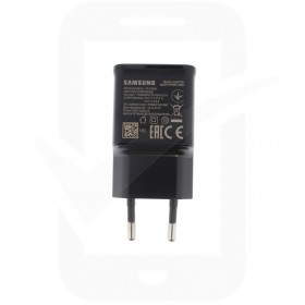 Genuine Samsung Galaxy A20e, A40, A41, A50 SM-A505 EP-TA200 Black Charging Adapter - GH44-03023A