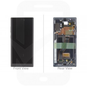 Official Samsung Galaxy Note 10+ / 10+ 5G SM-N975 SM-N976 Aura Black LCD Screen & Digitizer - GH82-20838A