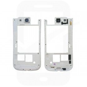 Genuine Samsung Galaxy S3 i9300 White Rear Cover / Chassis - GH98-23341B