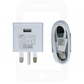 Official Samsung EP-TA50UWE 1.5 Amp UK Mains Charger - SM-A500 A5, SM-A700 A7