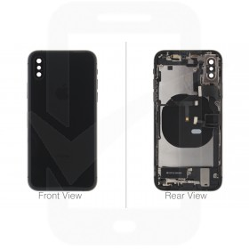 Official Apple iPhone XS Black Battery Cover (OEM Pulled)