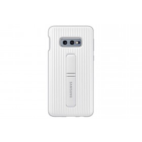 Official Samsung Galaxy S10e White Protective Standing Cover / Case - EF-RG970CWEGWW