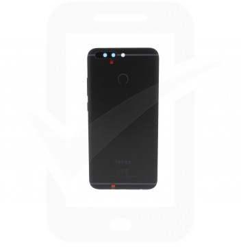 Official Huawei Honor 8 Pro DUK-L09 Midnight Black Battery Cover with Fingerprint Sensor & Battery - 02351FVM
