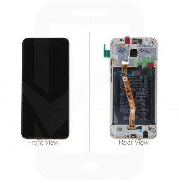 Official Huawei Mate 20 Lite SNE-L21, SNE-LX1 Gold LCD Screen & Digitizer with Battery - 02352DKN