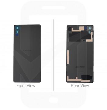 Genuine Sony Xperia X F5121, F5122 Black Rear / Battery Cover - 1299-7889