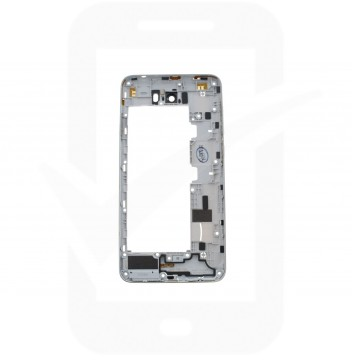 Official Huawei Y6 Compact II Dual Sim LYO-L21 Grey (Silver Deco) Chassis / Middle Frame - 97070PEF