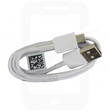 """Genuine Samsung EP-DN930CWE White Type C Data Cable - S8, S8+, S9, S9+, Tab A 10.5, S3 9.7"""", S4 10.5 & Gear 360"""