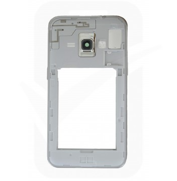 Genuine Samsung Galaxy J1 2016 SM-J120 White Chassis / Midddle Cover - GH98-38929A