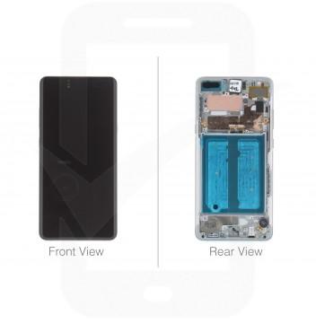 Official Samsung Galaxy S10 5G G977 Crown Silver LCD Screen & Digitizer - GH82-20442A