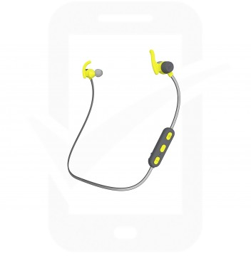 Official KitSound Hudson Green In-Ear Bluetooth Sports Headphones - KSHUDSSPGN