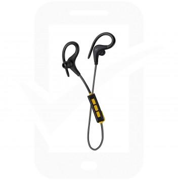 Official KitSound Race Black In-Ear Bluetooth Headphones  - KSRACBK