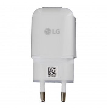 Genuine LG MCS-N04ER 3Amp White USB Mains Charging Adapter - EU