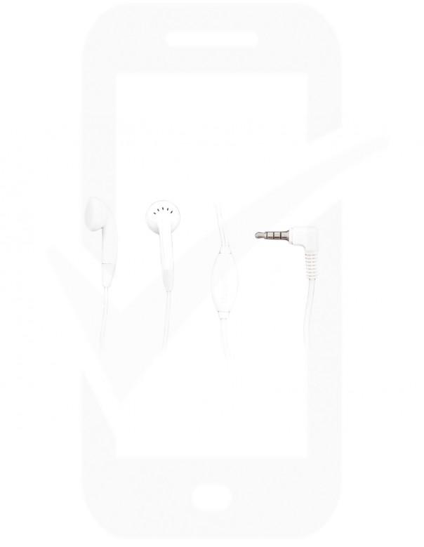 Genuine ZTE HMZ17-CTIA 3.5mm Stereo Headset - White