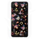Official Huawei P30 Lite Floral Black Polycarbonate Case - 51993073