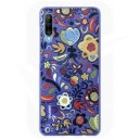 Official Huawei P30 Lite Floral Blue Polycarbonate Case - 51993074