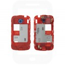 Genuine HTC Desire C Polar White Rear Chassis / Middle Cover - 74H02228-00M