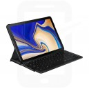 Official Samsung Tab S4 10.5 SM-T830, SM-T835 Black Qwertz Keyboard Cover - EJ-FT830UBEGWW
