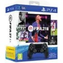 Sony PlayStation Dualshock 4 Controller - Black + FIFA 21 Game Code - Bundle