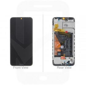 Genuine Huawei Y6 2019 Black LCD Screen & Digitizer with Battery - 02352LVM