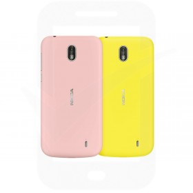 Official Nokia 1 Xpress-On Pink / Yellow Cover Dual Pack - 1A21RSQ00VA