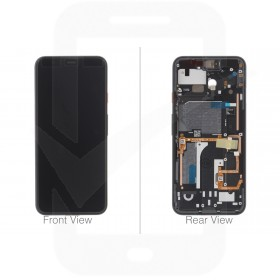 Official Google Pixel 4 LCD & Digitizer for Clearly White - 20GF2WW0014