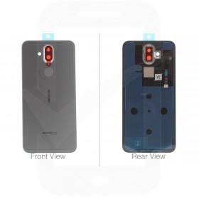 Genuine Nokia 8.1 Steel Dual Sim Battery Cover - 20PNXSW0003