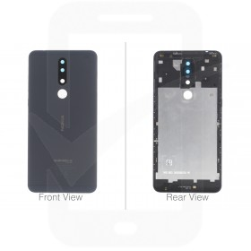 Official Nokia 3.1 Plus Dual Sim TA-1104 Black Battery Cover - 20ROODW0002