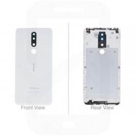 Official Nokia 3.1 Plus Dual Sim TA-1104 White Battery Cover - 20ROOWW0003