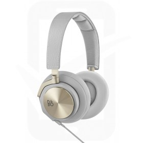 Official Bang & Olufsen Beoplay Champagne Grey Leather H6 Over Ear Headphones - BO1642961