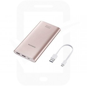 Official Samsung Pink Micro USB 10,000mAh Battery Pack - EB-P1100BPEGWW
