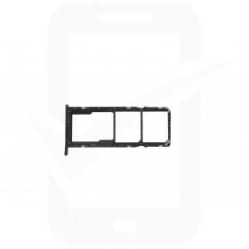 Genuine Huawei Y6 2019 Black Sim / Memory Card Tray - 51661LXY