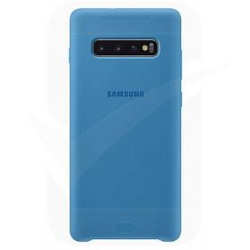 Official Samsung Galaxy S10 Blue Silicone Cover / Case - EF-PG973TLEGWW