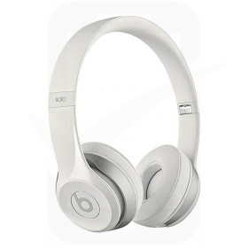 Official Beats By Dr. Dre White Solo2 On-Ear Headphones - MH8X2ZMA