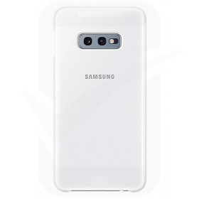 Official Samsung Galaxy S10e White NFC Powered Back Cover / Case - EF-KG970CWEGWW