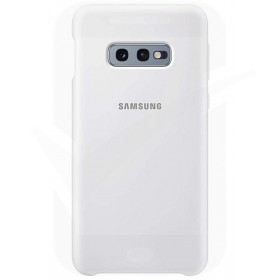 Official Samsung Galaxy S10e White Silicone Cover / Case - EF-PG970TWEGWW