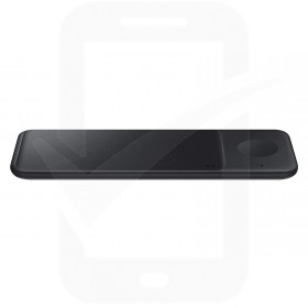 Official Samsung EP-P6300 Black Tri Qi Wireless Charger Pad with Mains Charger - EU