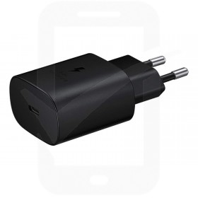 Official Samsung 25W USB-C Black Mains Charger - EU