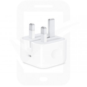 Official Apple MHJF3B/A 20W USB-C Power Adapter - Retail Packed