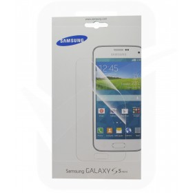 Official Samsung ET-FG800CTEG Screen Protectors - Galaxy S5 Mini - Twin Pack