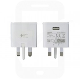 Official Samsung EP-TA20 2 Amp UK Fast Charging Adapter - White