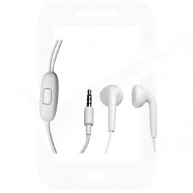 Genuine LG White Stereo Handsfree / Headset - EAB62808711